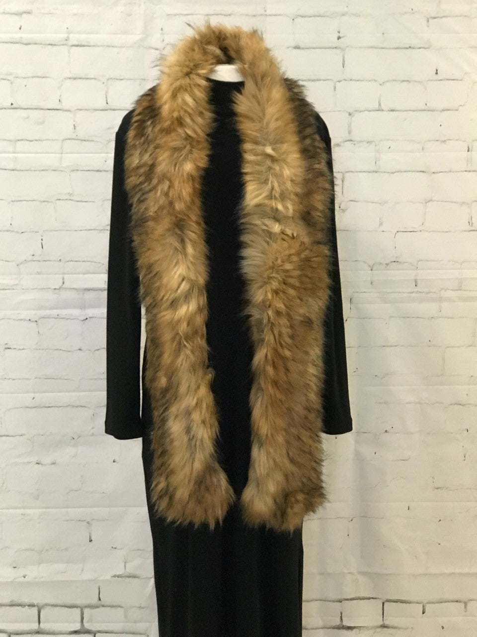 Blonde Faux Fur Stole