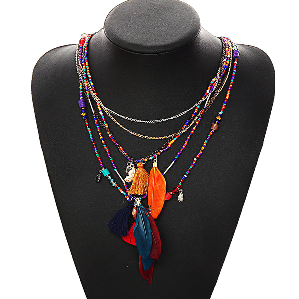 Ethnic Inspired Western Necklace