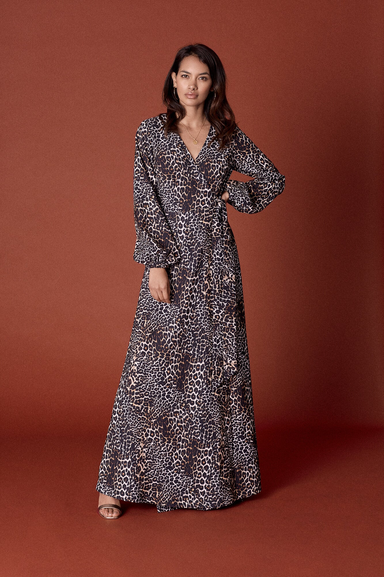 Leopard Print Penelope Dress