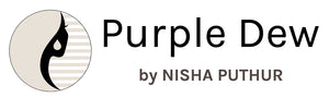 Purple Dew label by Nisha Puthur blends modern with classic, design patterns with symbolism, feminine silhouette with masculine element. Statement jewelry designed with an intention.