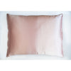 Charmeuse silk, pink, Silk Pillowcase - Mari Ann