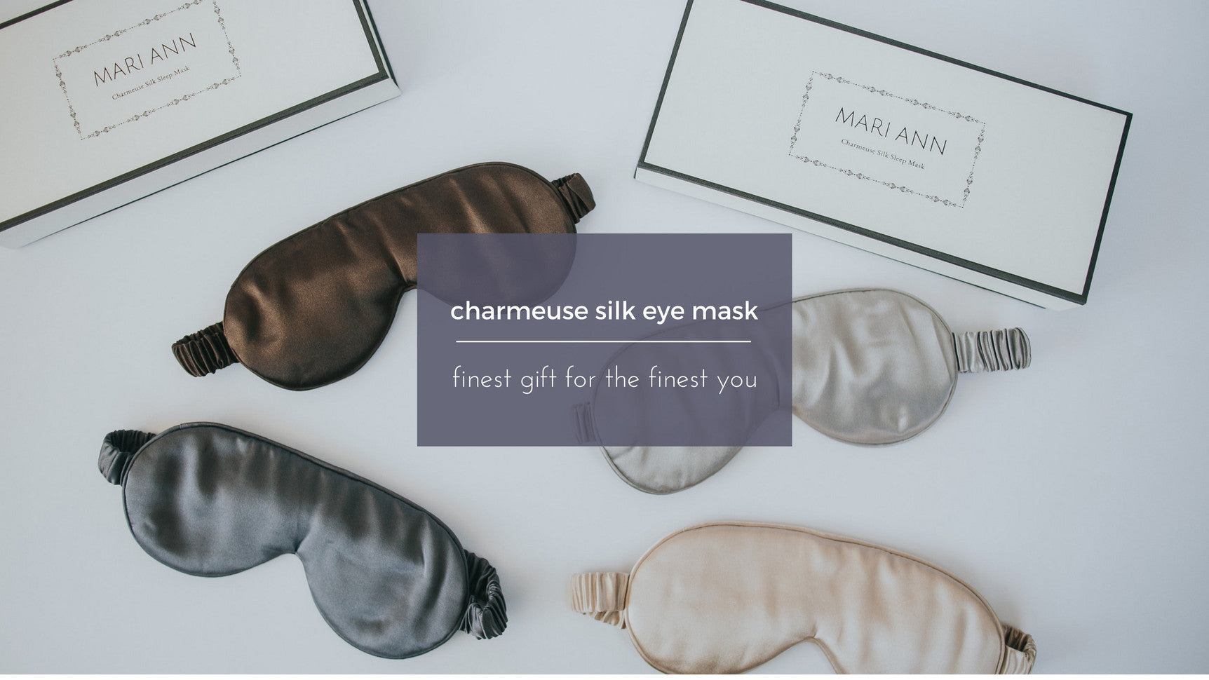 silk sleep mask, Mari Ann