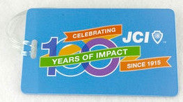 JCI 100th Anniversary Luggage Tag