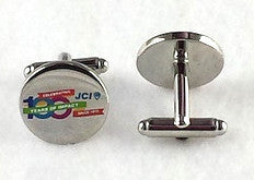Round JCI 100th Anniversary Cufflinks