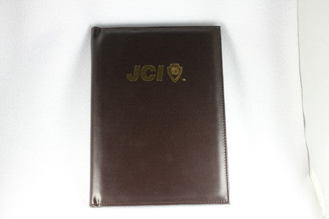 A5 Leather Portfolio with Notepad