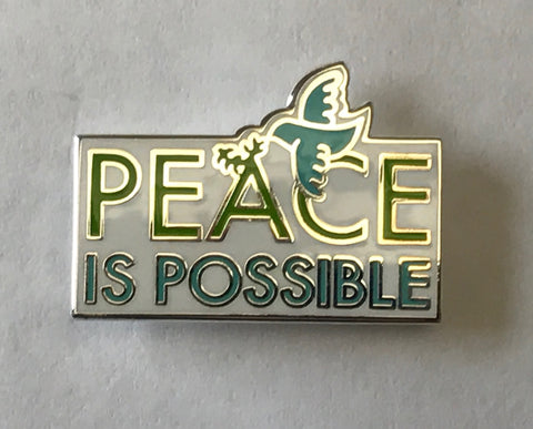 Peace is Possible Pin