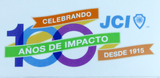 JCI 100th Anniversary Logo Sticker