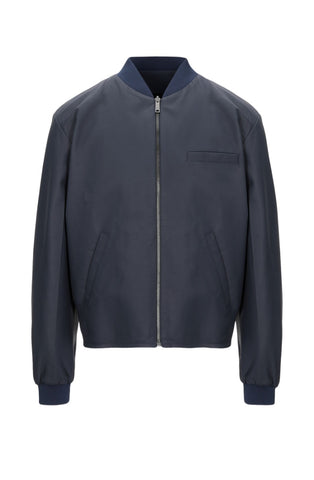 Prada - Men's Leather Bomber Jacket