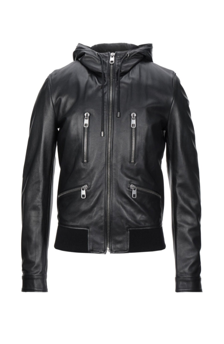 Dolce & Gabbana - Men's Leather Jacket