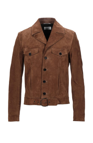 Saint Laurent - Men's Suede Jacket