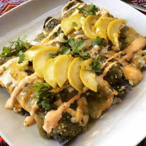 Easy Bake Chicken Enchiladas