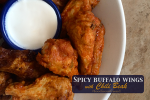 Orange Spiced Buffalo Wings