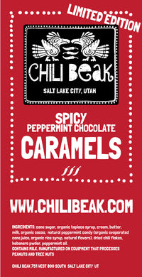 CHRISTMAS SPECIAL!!! Spicy Peppermint Chocolate Caramels