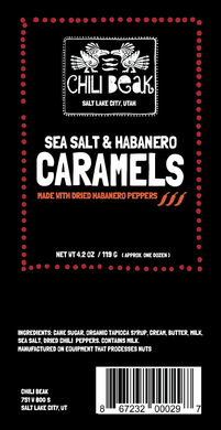 Sea Salt Habanero Caramels
