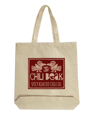 Save the planet Chili Beak tote