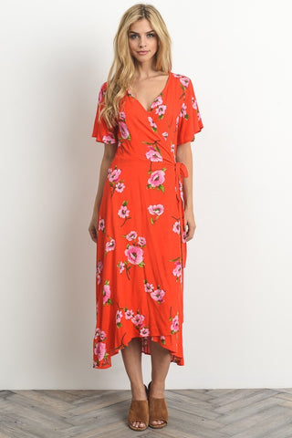 Boardwalk Wrap Dress