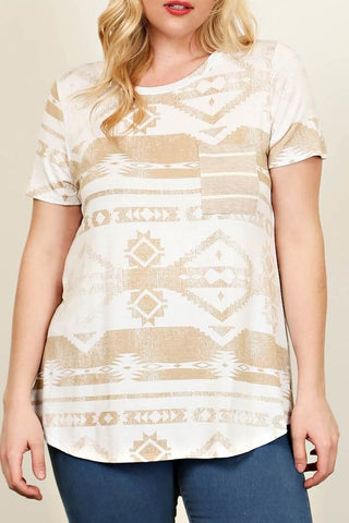 Amy Aztec Plus Top