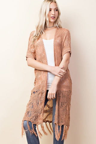 Honey and Lace Kimono