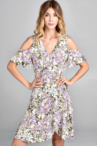 Florida Keys Floral Dress
