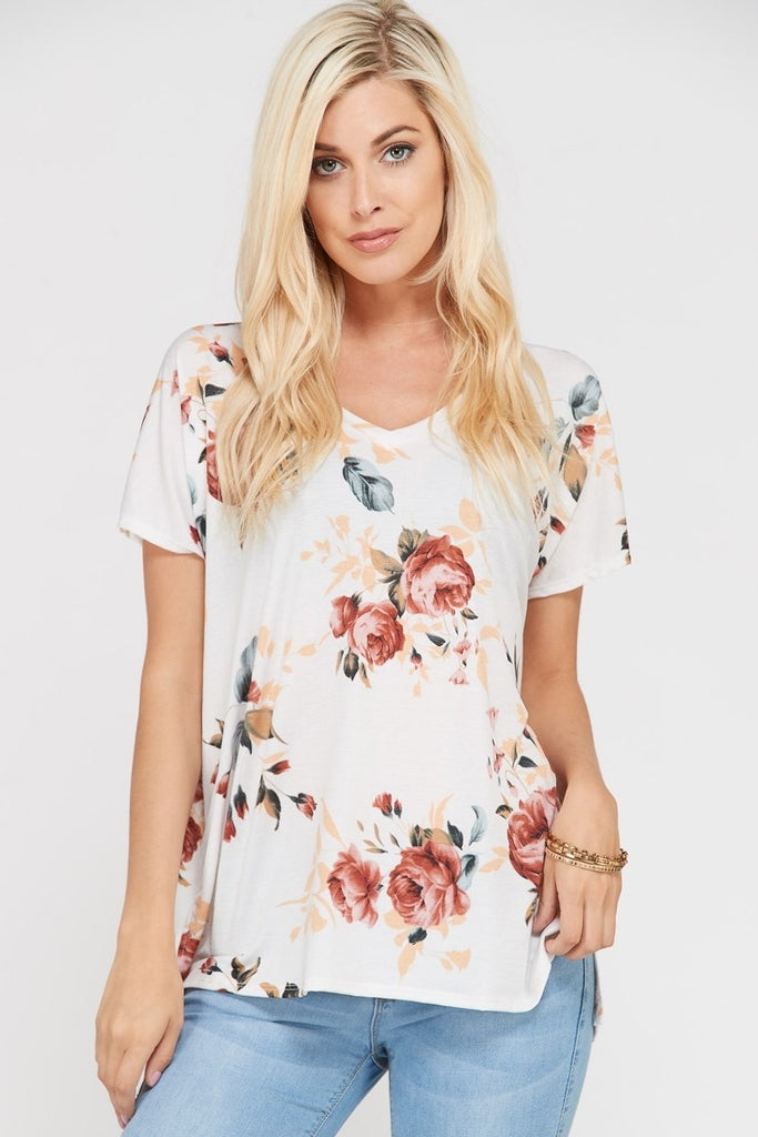 Classic Floral Top