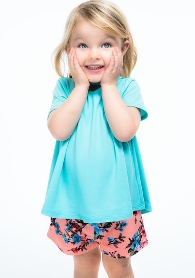 Toddler Front Keyhole Top
