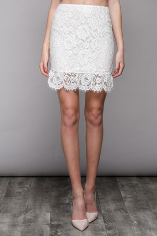 Abby Lace Skirt