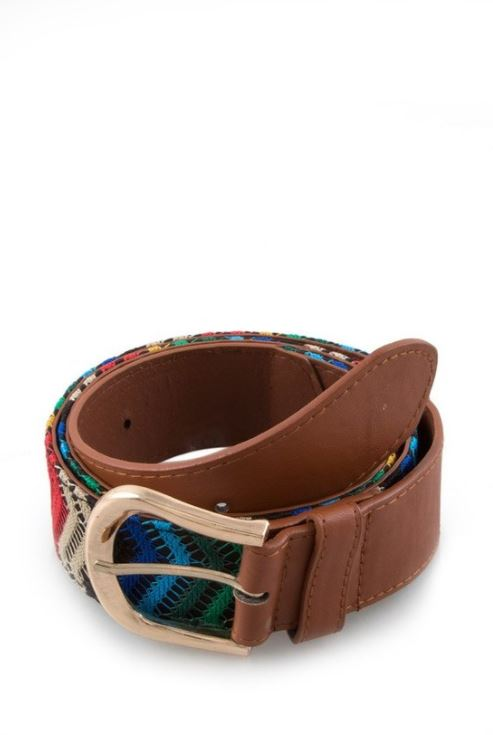 Multi Colored Belt