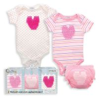 Baby Bodysuit and Bloomer Set - Sweetheart