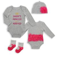 Baby Bodysuit with hat and Socks