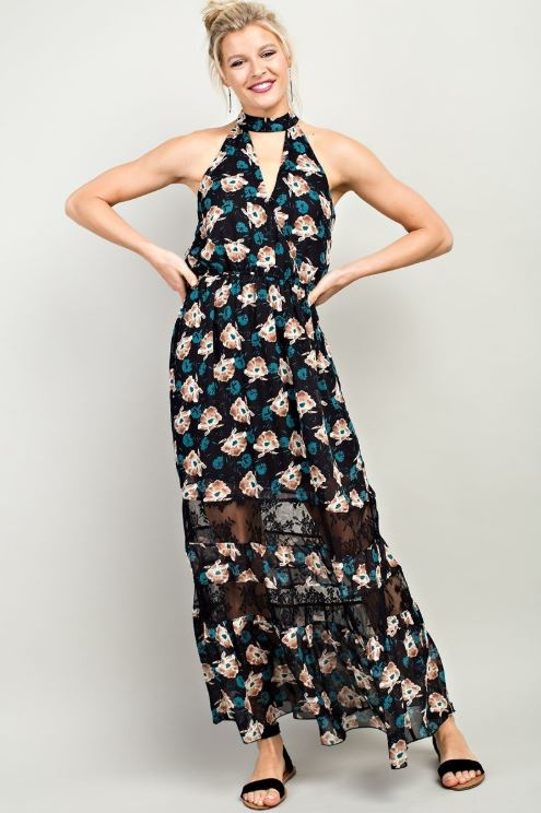 Forest Floral Maxi