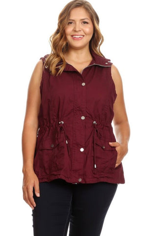 Recommended Plus Size Military Vest