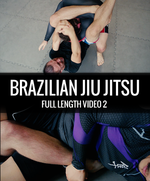 A triangle choke, and a heel hook in brazilian jiu jitsu.
