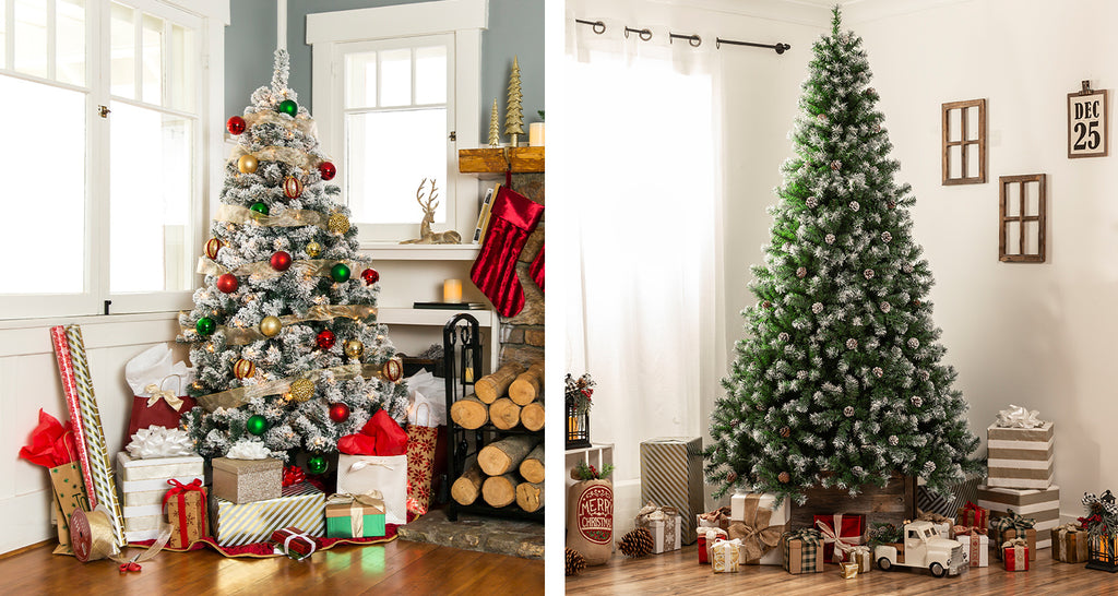 Pre-Decorated And Flocked Artificial Trees Buying Guide: How BCP's Trees Balance Value and Luxury