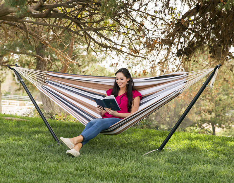 Best Choice Products Double Hammock With Stand