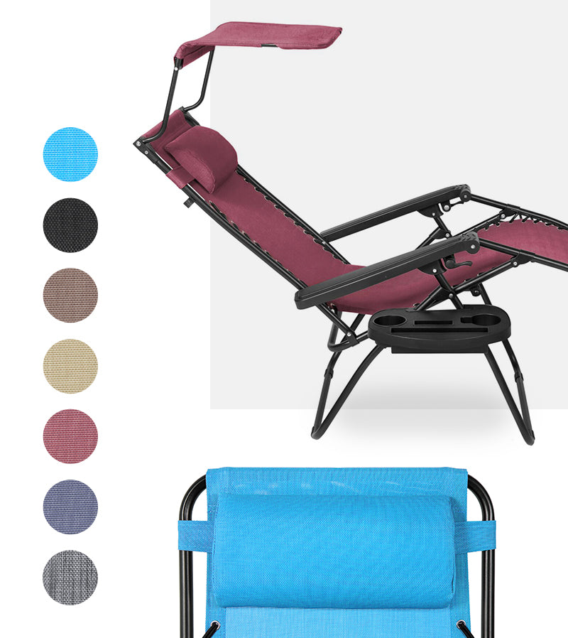 Classic Zero Gravity Chair Colors & Styles Collage