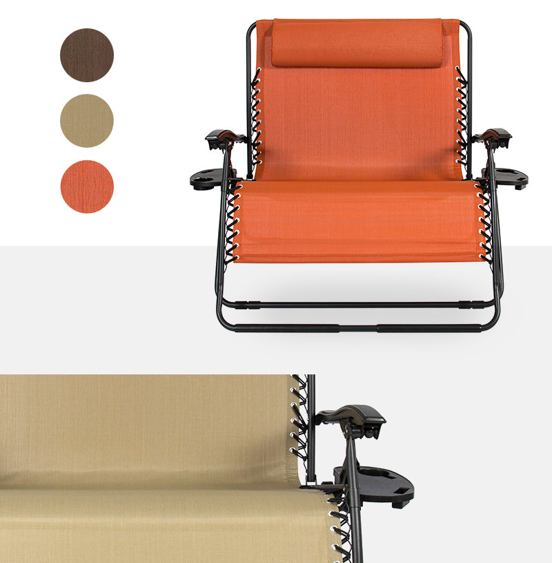 Double & 2-Person Zero Gravity Chair Colors & Styles Collage