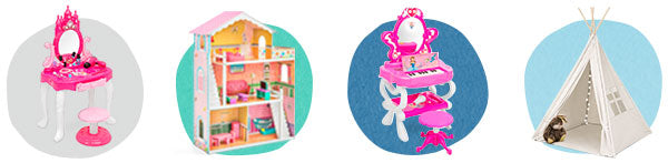 Shop All Play Pretend | Vanity Sets, Kids' Kitchen Sets, & Teepee Tents