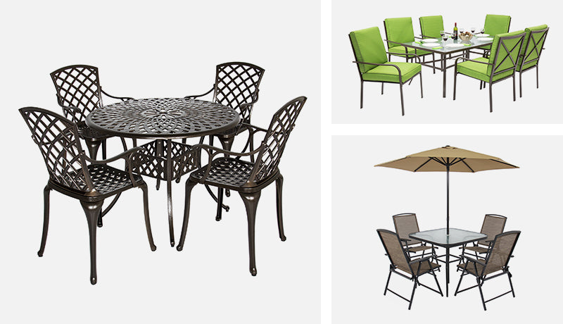 From Relaxing And Entertaining Guests To Wining And Dining At Your Best,  Find Your Perfect Patio Set Today From Our Complete Collection Of Wooden,  Wicker, ...