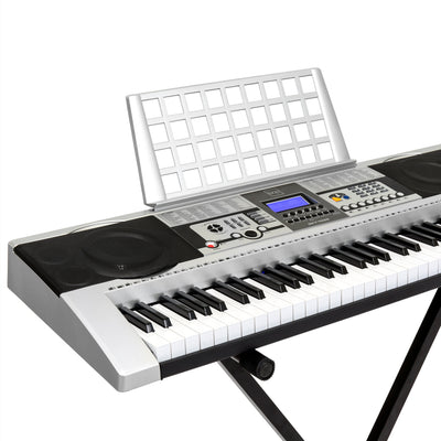 61 Key Electronic Keyboard With X-Stand