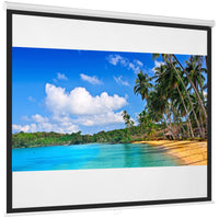 Deals on 119in Pull Down Projector Screen
