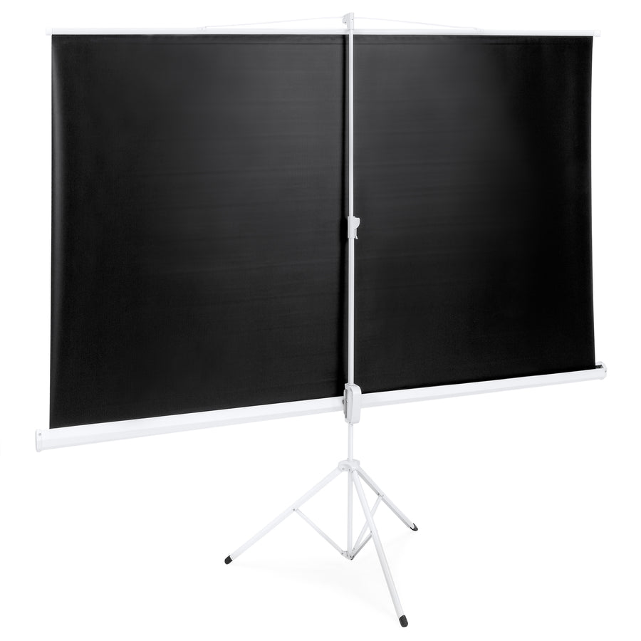 "Best Choice Products 100""D Tripod Portable Projector Projection 16:9 Screen 87x49 Foldable Stand 1.3"