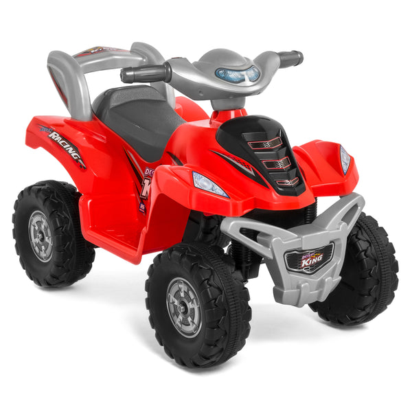 6V Ride On ATV Quad - Red