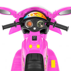 Kids Ride On Motorcycle W/ 3 Wheel - Pink