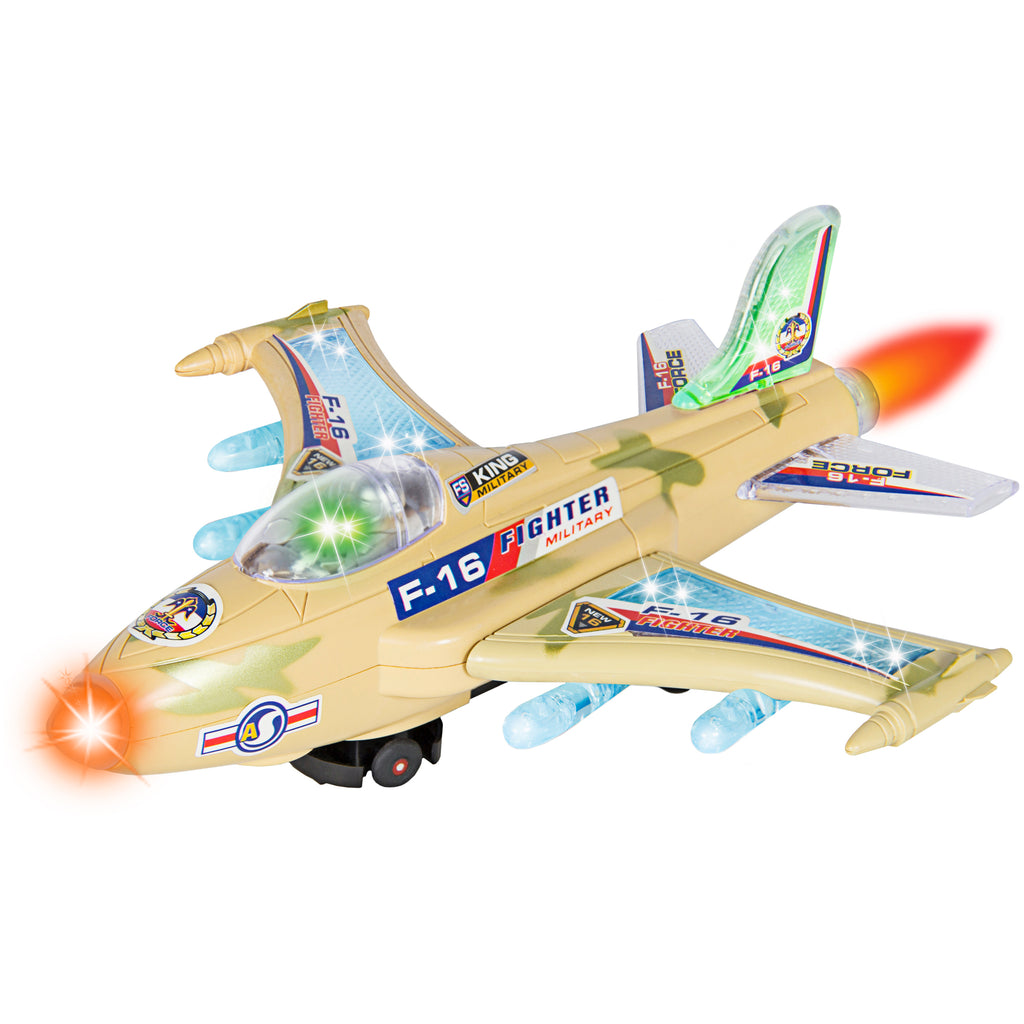 Bump and Go Fighter Jet Airplane