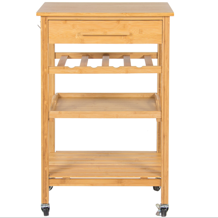 Rolling Kitchen Storage Cart - Tan  sc 1 st  Best Choice Products & Rolling Kitchen Storage Cart - Tan u2013 Best Choice Products