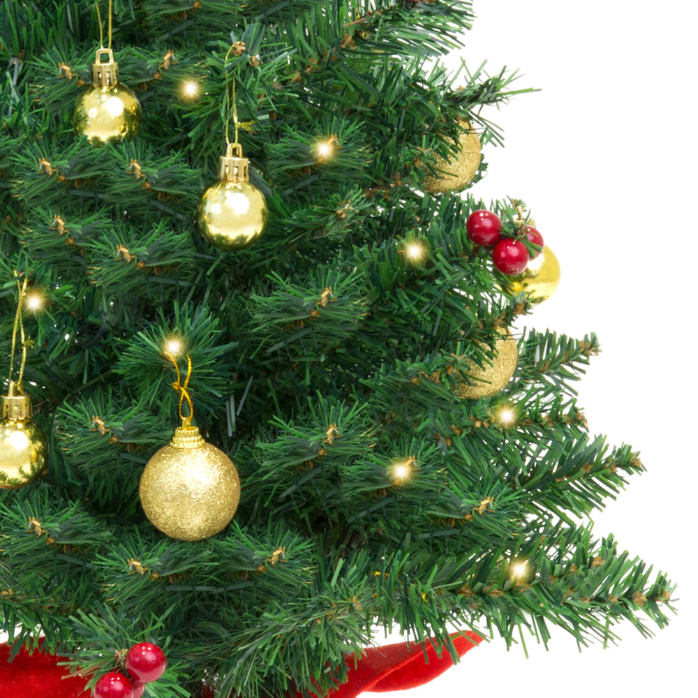 d4d97f53838 22in Tabletop Christmas Tree w  Lights