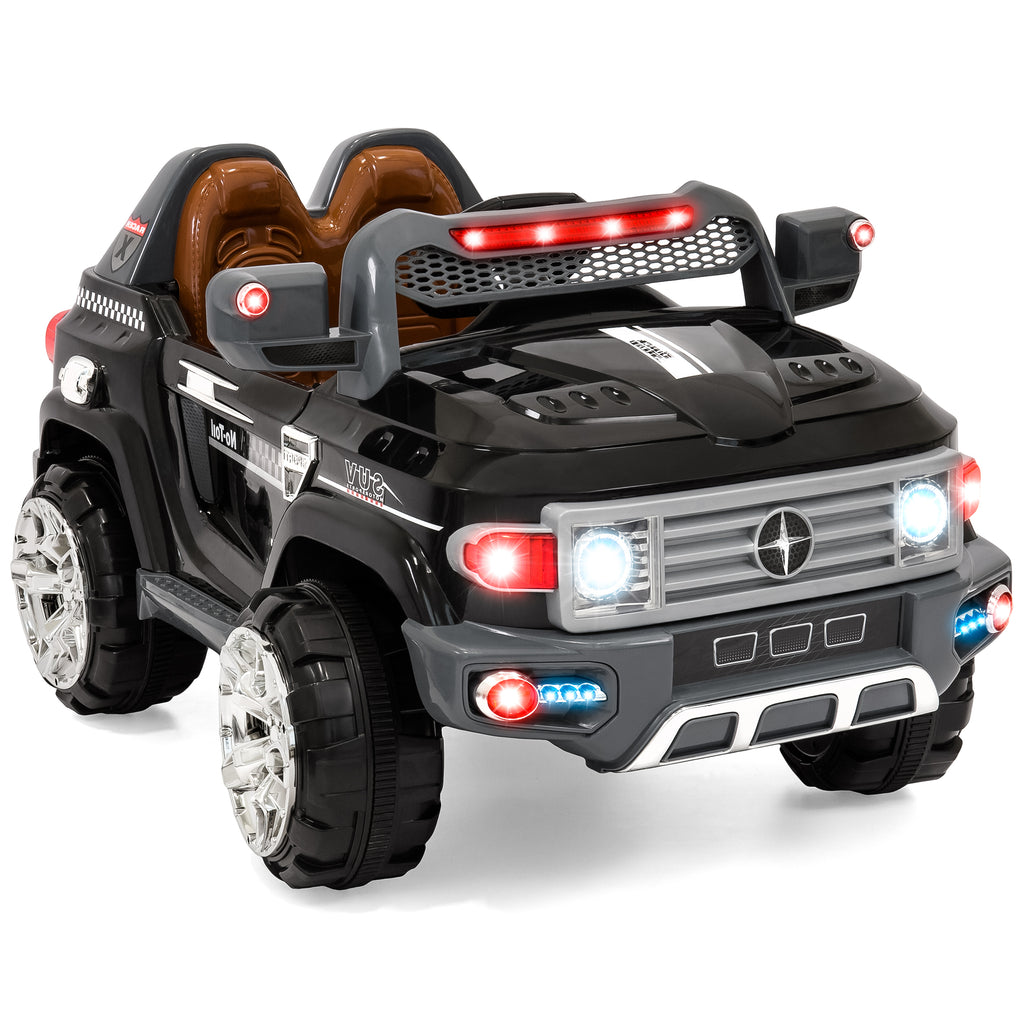 12V Kids Truck SUV Ride-On Car w/ 2 Speeds, Lights, AUX, Parent Control