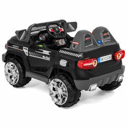 12V Electric Ride On Truck w/ Parent Control - Black