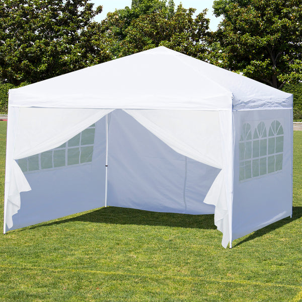 10x10ft Pop Up Canopy Tent w/ Side Walls & 10x10ft Pop Up Canopy Tent w/ Side Walls u2013 Best Choice Products