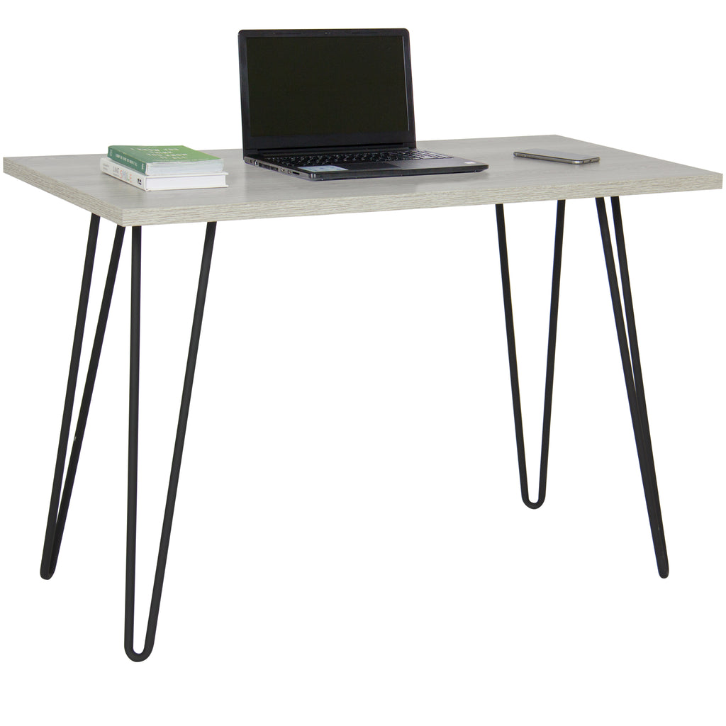 Best Choice Products Writing Desk W/ Hairpin Metal Legs